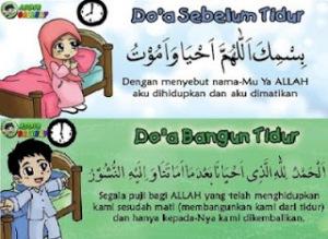 Doa Tidur dan Bangun