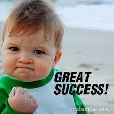 great succes