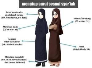 jilbab syari'ah